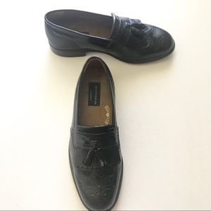 Bostonian Classics Size 8.5  Men's Black Loafers